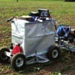 Ogräsroboten Lukas kan halvera kostnaderna för ogräsbekämpning.