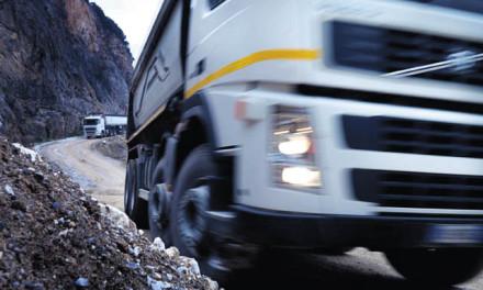 混合动力的公交车和卡车