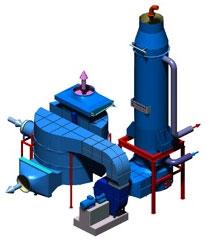 清除污染和能量回收二合一系统