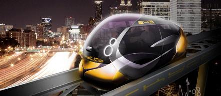 空中出租车效果图。由NanikStudio设计。©SkyCab公司