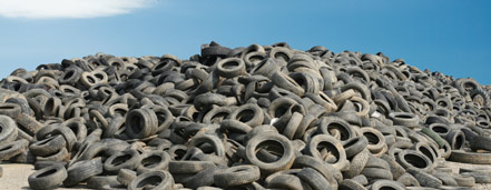 EcoRub has developed a unique process for material recovery from worn-out tires.