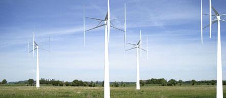 垂直轴风力发电站