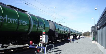 从安全和环保角度来说,铁路更适合燃料运输。