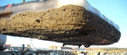 冻结挖泥技术可以有效清理被污染的沉积物