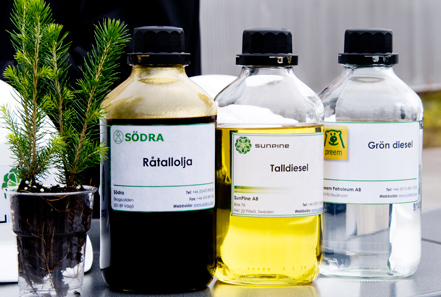 以林业废弃物作为原料,生产更环保的柴油