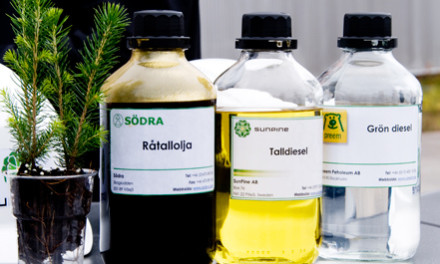 松油柴油可减少二氧化碳排放