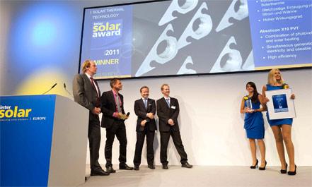 """Absolicon荣获太阳能产业的""""奥斯卡奖""""。"""