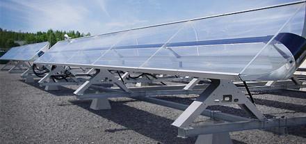 将太阳能转化为电和热
