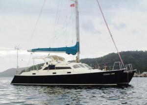 Dellencat,一艘现代双体船。