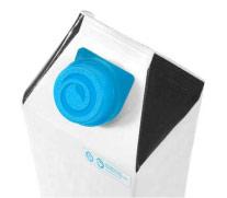 牛奶盒上的生物塑料