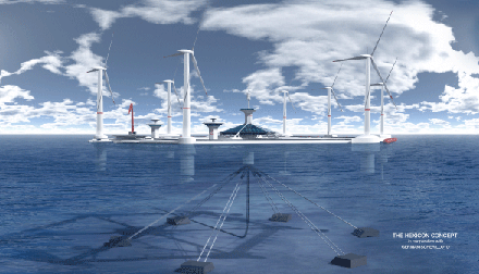新海上能源开采方案