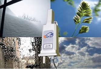 可接收天气预报的供暖系统