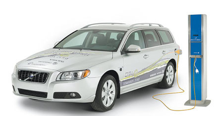 VOLVO公司和VATTENFALL公司联合发布插电式混合动力车