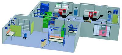 可改善工厂环境的通风设备