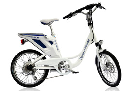 独特的电动自行车